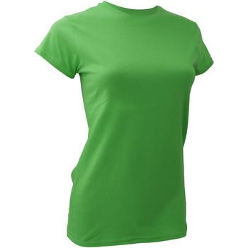 textil Dame T-shirts m. korte ærmer Anvil 379 Green Apple