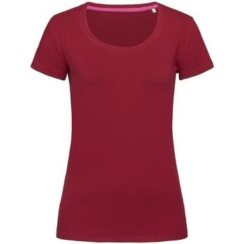 textil Dame T-shirts m. korte ærmer Stedman Stars  Bordeaux
