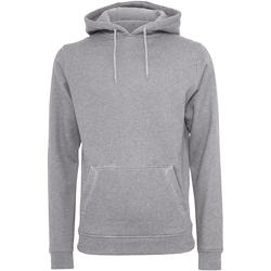 textil Herre Sweatshirts Build Your Brand BY011 Heather Grey