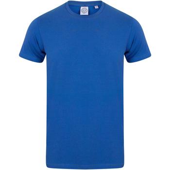 textil Børn T-shirts m. korte ærmer Skinni Fit SM121 Royal