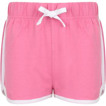 textil Børn Shorts Skinni Fit SM069 Bright Pink/ White