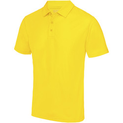 textil Herre Polo-t-shirts m. korte ærmer Awdis JC040 Sun Yellow
