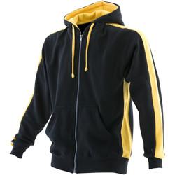 textil Herre Sweatshirts Finden & Hales LV330 Black/Yellow