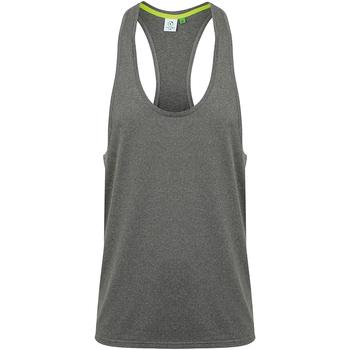 textil Herre Toppe / T-shirts uden ærmer Tombo TL504 Grey Marl