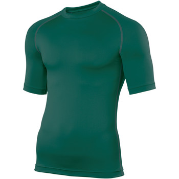 textil Herre T-shirts m. korte ærmer Rhino RH002 Bottle Green