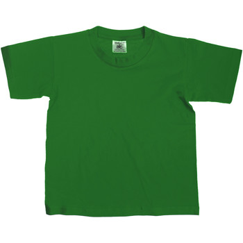 textil Børn T-shirts m. korte ærmer B And C Exact Bottle Green