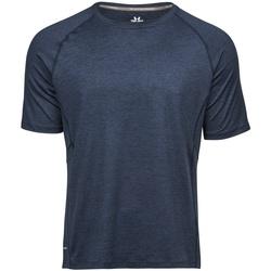 textil Herre T-shirts m. korte ærmer Tee Jays TJ7020 Navy Melange