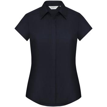 textil Dame Skjorter / Skjortebluser Russell 925F French Navy