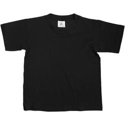 textil Børn T-shirts m. korte ærmer B And C Exact Black