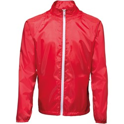 textil Herre Vindjakker 2786 TS011 Red/ White