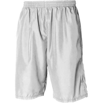 textil Herre Shorts Tombo Teamsport Longline White / White