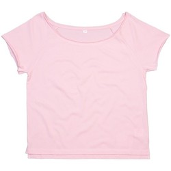 textil Dame T-shirts m. korte ærmer Mantis Dance Soft Pink
