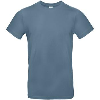 textil Herre T-shirts m. korte ærmer B And C TU03T Stone Blue