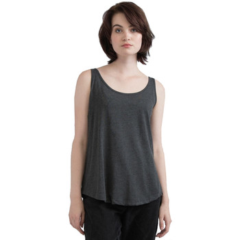 textil Dame Toppe / T-shirts uden ærmer Mantis M92 Charcoal Grey Melange