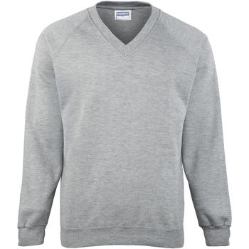 textil Børn Sweatshirts Maddins MD02B Oxford Grey