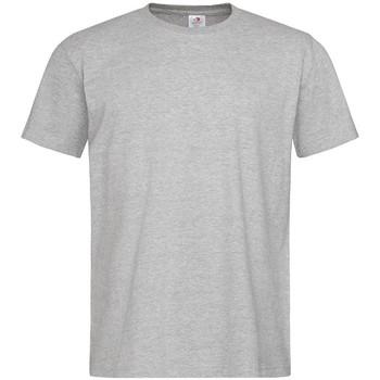 textil Herre T-shirts m. korte ærmer Stedman  Heather Grey
