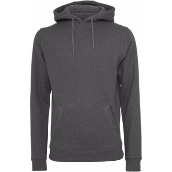 textil Herre Sweatshirts Build Your Brand BY011 Charcoal