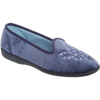 Sko Dame Tøfler Sleepers  Blueberry