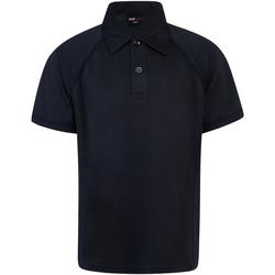 textil Børn Polo-t-shirts m. korte ærmer Finden & Hales LV372 Navy/Navy