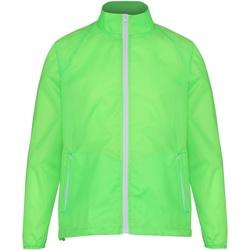 textil Herre Vindjakker 2786  Lime/ White