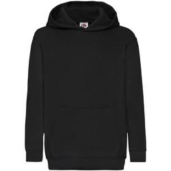 textil Børn Sweatshirts Fruit Of The Loom 62043 Black