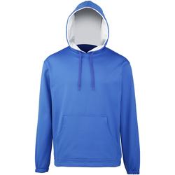 textil Dreng Sweatshirts Rhino RH70B Royal/Grey