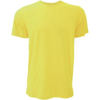 textil Herre T-shirts m. korte ærmer Bella + Canvas CA3001 Heather Yellow Gold