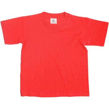 textil Børn T-shirts m. korte ærmer B And C Exact Red