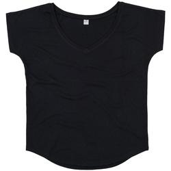 textil Dame T-shirts m. korte ærmer Mantis M147 Black
