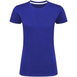 textil Dame T-shirts m. korte ærmer Sg Perfect Royal Blue