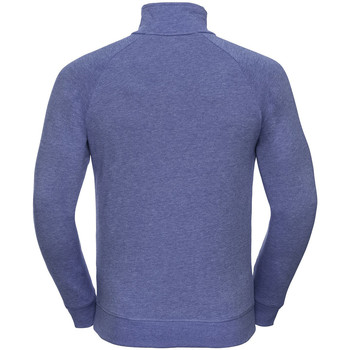 textil Herre Pullovere Russell 1/4 Zip Blue Marl
