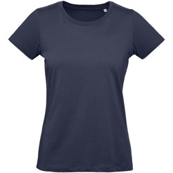 textil Dame T-shirts m. korte ærmer B And C Inspire Urban Navy
