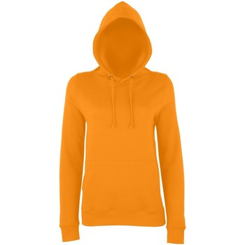 textil Dame Sweatshirts Awdis Girlie Orange Crush