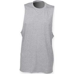 textil Herre Toppe / T-shirts uden ærmer Skinni Fit SF232 Heather Grey