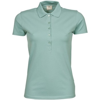 textil Dame Polo-t-shirts m. korte ærmer Tee Jays TJ145 Dusty Green