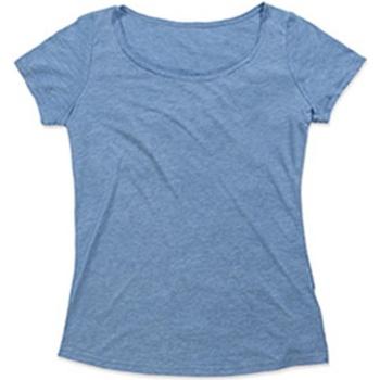 textil Dame T-shirts m. korte ærmer Stedman Stars  Vintage Blue