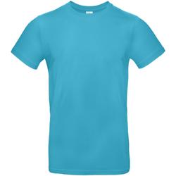 textil Herre T-shirts m. korte ærmer B And C TU03T Swimming Pool