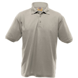 textil Herre Polo-t-shirts m. korte ærmer Ultimate Clothing Collection UCC004 Heather Grey
