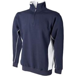 textil Herre Sweatshirts Finden & Hales LV338 Navy/White