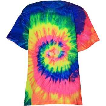 textil Børn T-shirts m. korte ærmer Colortone TD02B Neon Rainbow