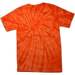 textil Herre T-shirts m. korte ærmer Colortone Tonal Spider Orange