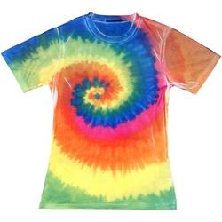 textil Dame T-shirts m. korte ærmer Colortone TD21M Rainbow