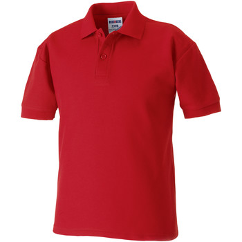 textil Dreng Polo-t-shirts m. korte ærmer Jerzees Schoolgear 65/35 Classic Red