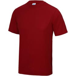 textil Børn T-shirts m. korte ærmer Awdis JC01J Fire Red