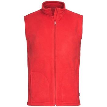 textil Herre Veste / Cardigans Stedman  Scarlet Red