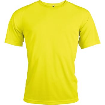 textil Herre T-shirts m. korte ærmer Kariban Proact PA438 Fluorescent Yellow