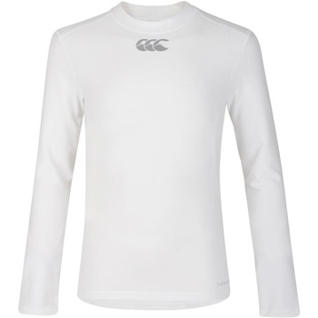 textil Børn Langærmede T-shirts Canterbury CN360B White