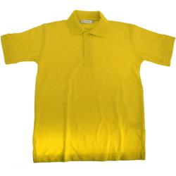 textil Dreng Polo-t-shirts m. korte ærmer Kustom Kit KK406 Canary