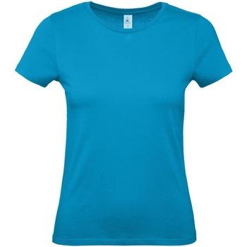 textil Dame T-shirts m. korte ærmer B And C E150 Atoll