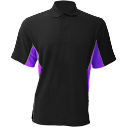 textil Herre Polo-t-shirts m. korte ærmer Gamegear KK475 Black/Purple/White